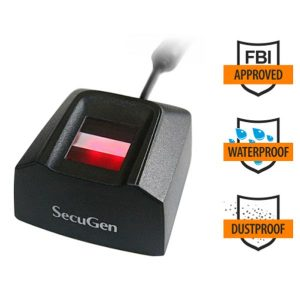 SecuGen Hamster Pro 20 Waterproof FBI certified Fingerprint Reader