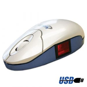 SecuGen Optimouse Plus Fingerprint Reader USB Mouse