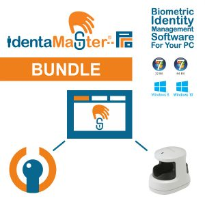 IdentaMaster Biometric Bundle with Hitachi H1 (PC-KCA100) Finger Vein Reader