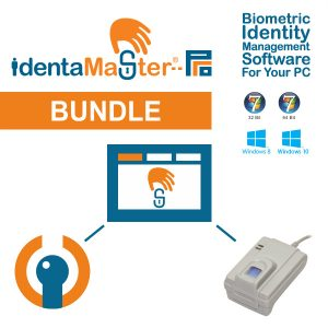 IdentaMaster Biometric Bundle with Miaxis FPR620 Optical Fingerprint Reader