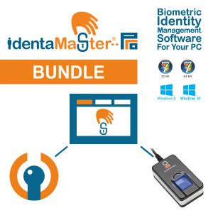 IdentaMaster Biometric Bundle with Crossmatch Digital Persona U.are.U 5160 Fingerprint Reader