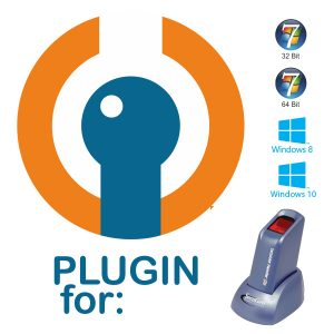 Plugin for SecuGen Hamster Plus HSDU03P Fingerprint Reader