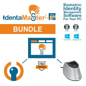 IdentaMaster Biometric Bundle with Suprema BioMini Combo Fingerprint Scanner