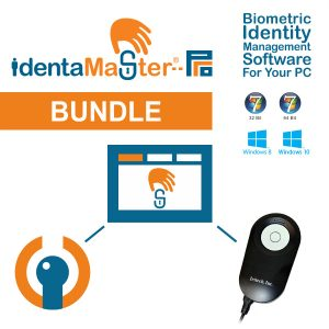 IdentaMaster Biometric Bundle with IriTech IriShield MK2120U Iris Scanner