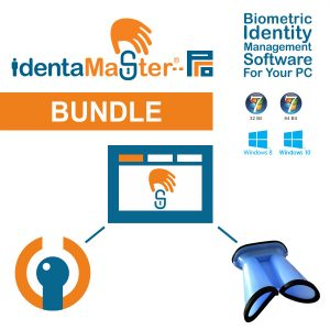 IdentaMaster Biometric Bundle with IriTech IriShield BK2121U Iris Binocular Scanner