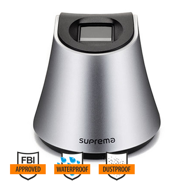Suprema BioMini Plus 2 FBI PIV Certified Fingerprint Scanner USB
