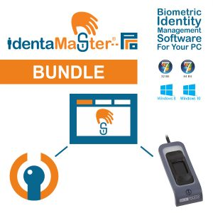 IdentaMaster Biometric Bundle with Crossmatch EikonTouch 510