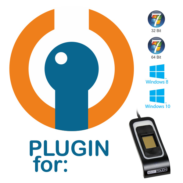 Plugin for Crossmatch EikonTouch 710 Capacitive Fingerprint Scanner