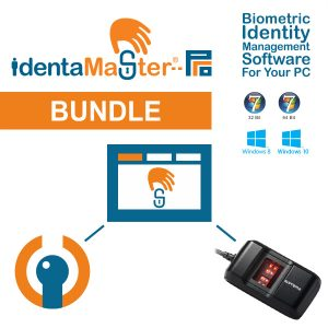IdentaMaster Biometric Bundle with Suprema BioMini Slim 2 Fingerprint Scanner