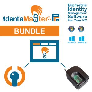 IdentaMaster Biometric Bundle with Fulcrum Futronic FS80H Fingerprint Scanner
